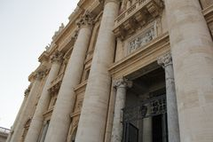 Rome antique architecture photography. Good for any design or project Royalty Free Stock Photos