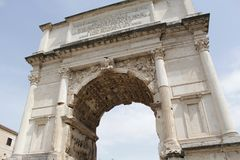 Rome antique architecture photography. Good for any design or project Stock Photography