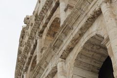 Rome antique architecture photography. Good for any design or project Stock Photos