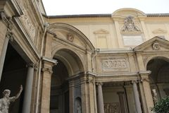 Rome antique architecture photography. Good for any design or project Royalty Free Stock Photography