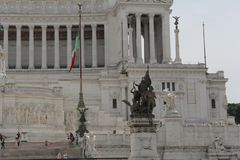 Rome antique architecture photography. Good for any design or project Stock Image