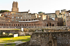 rome antyczne ruiny Obrazy Royalty Free