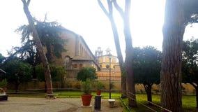 Rome apelsinträdgård lager videofilmer