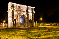 Rome and Arch of Constantine Royalty Free Stock Photos