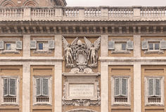 Rome architecture Royalty Free Stock Photography