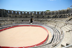 Rome arena in Arles royalty free stock photo