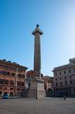 ROME-AUGUST 7 :8月7,2013的广场科隆纳在罗马意大利。 库存图片