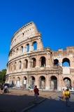 ROME-AUGUST 8 :8月8,2013的罗马斗兽场在罗马,意大利。 图库摄影