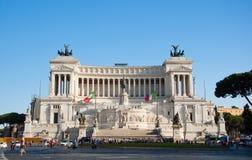 ROME-AUGUST 5:The Altare della Patria on August 5, 2013 in Rome, Italy. Stock Photo