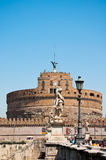 ROME-AUGUST 8: Castle of the Holy Angel on August 8,2013 in Rome, Italy. Royalty Free Stock Photography