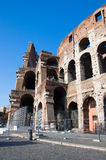 ROME-AUGUST 8: The Colosseum on August 8,2013 in Rome, Italy. Stock Photo