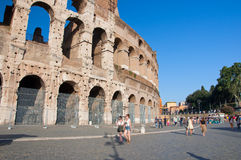 ROME-AUGUST 8: The Colosseum on August 8,2013 in Rome, Italy. Royalty Free Stock Image