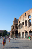 ROME-AUGUST 8: The Colosseum on August 8,2013 in Rome, Italy. Stock Images