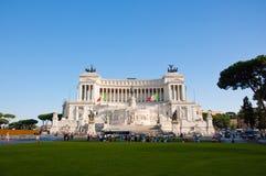 ROME-AUGUST 5: Den Altare dellaen Patria på Augusti 5, 2013 i Rome, Italien. Royaltyfri Foto