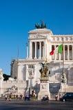 ROME-AUGUST 5: Den Altare dellaen Patria på Augusti 5, 2013 i Rome, Italien. Arkivfoto