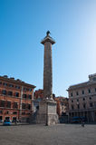 ROME-AUGUST 7: Piazza Colonna na Sierpień 7,2013 w Rzym Włochy. Obraz Stock