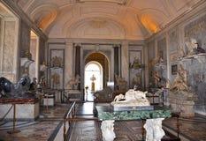 10 Rome-AUGUSTUS: Saladegli Animali op 10 Augustus, 2009 in Vatikaan. Royalty-vrije Stock Foto's