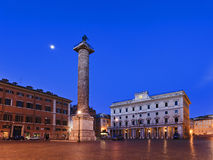 Rome Aurelius Column Royalty Free Stock Photo