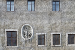 Rome bas relief on building Royalty Free Stock Image