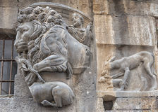 Rome bas relief Royalty Free Stock Photo