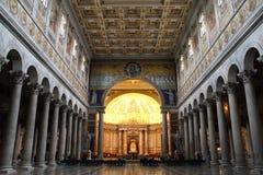 Rome basilica Stock Images