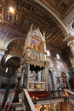 Rome basilica Stock Photography