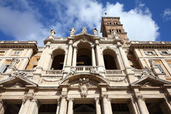 Rome basilica Stock Photography