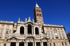 Rome: Basilica di Santa Maria Maggiore Stock Photo