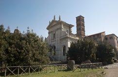 Rome - basilica Santa Francesca Romana Royalty Free Stock Images