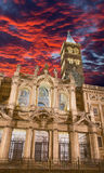 Rome - The Basilica Santa Maria Maggiore at dusk Royalty Free Stock Photos