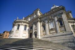 Rome Basilica Of Santa Maria Maggiore the Esquiline hill Stock Images
