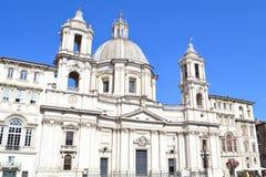Rome, Basilica of St. Agnes Stock Photos