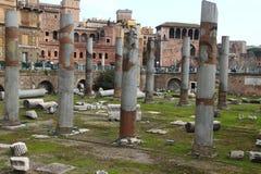 Rome, Basilica Ulpia Stock Photography
