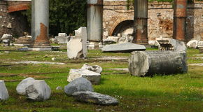 Rome, Basilica Ulpia Royalty Free Stock Photography