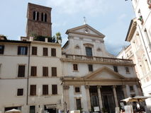 Rome - basilika av Sant ` Eustachio Royaltyfri Bild