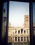 Rome basilika Santa Maria Maggiore Royaltyfri Fotografi