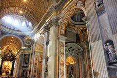 Rome basilique de Vatican, Italie - de St Peter images stock