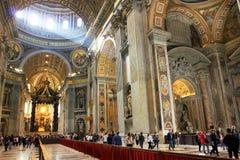 Rome basilique de Vatican, Italie - de St Peter photographie stock