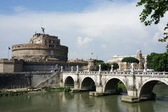 Rome bro Arkivbild