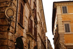 Rome buildings, Italy Royalty Free Stock Photos