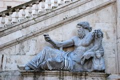 Rome - Campidoglio (The Capitoline Hill) Stock Photos
