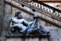 Rome - Campidoglio (den Capitoline kullen) Royaltyfria Foton