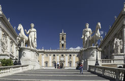 Rome - Campidoglio - Italy Stock Photos