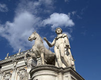 Rome, Campidoglio Stock Photos