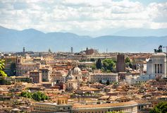 Rome is the capital of Italy. Rome, the capital of Italy panorama city Stock Image
