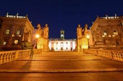 Rome, Capitol Stock Photo