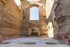 Rome - Caracalla thermae Royalty Free Stock Image