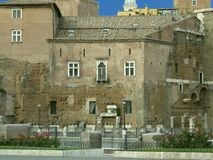 Rome, Casa Dei Cavalieri di Rodi Royalty Free Stock Photos