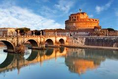 Rome - Castel saint Angelo, Italy Royalty Free Stock Photo