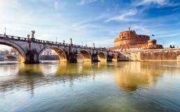 Rome - Castel saint Angelo, Italy Royalty Free Stock Photography